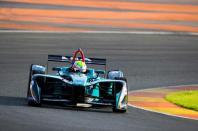 Olivier Turvey Test Valencia FormulaE