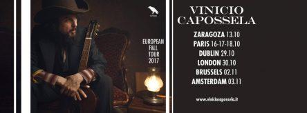 Vinicio Capossela European Tour