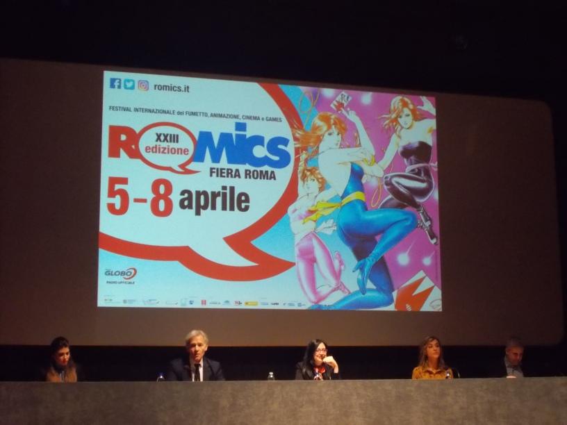 c320b5dab1 ARTE – CULTURA – FUMETTO – FESTIVAL – Ricalcando storie e origini in una  equilibrata innovazione. XXIII ROMICS 5-8 Aprile FIERA ROMA.