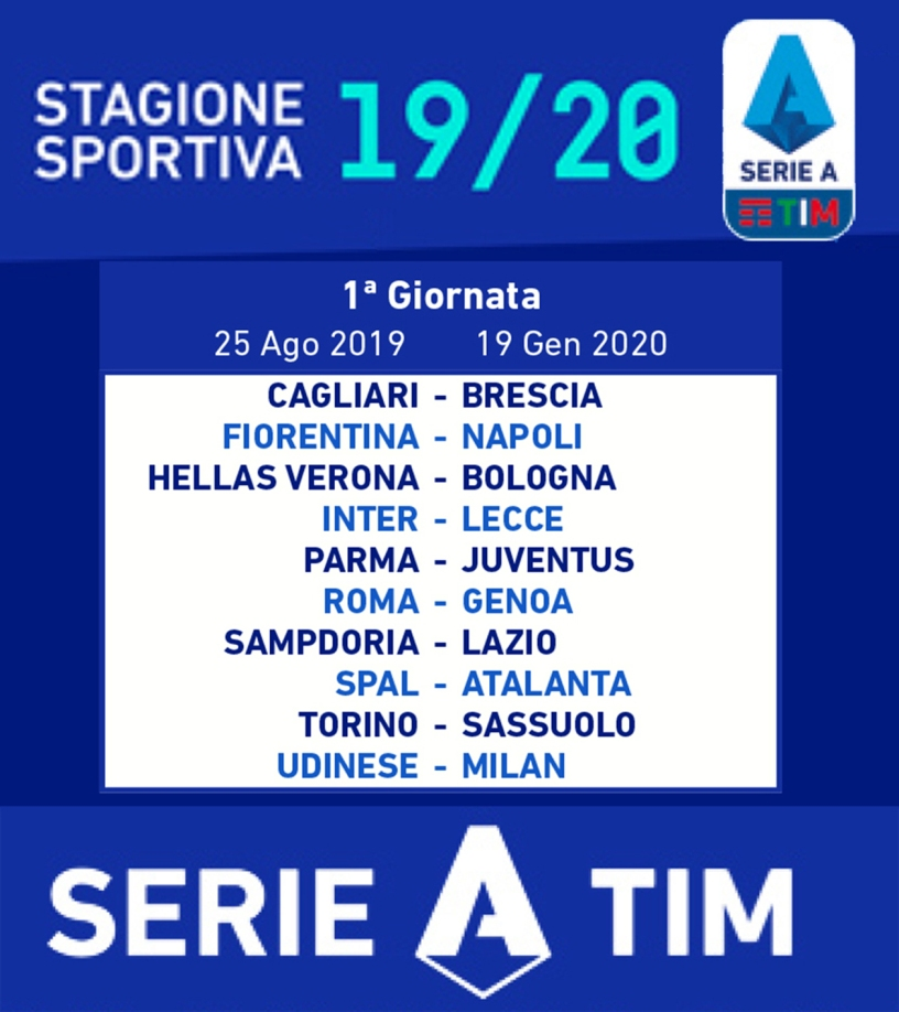 Calendario Serie A 1 Giornata.Il Calcio Serie A Serie B Criteri Stabiliti In Un