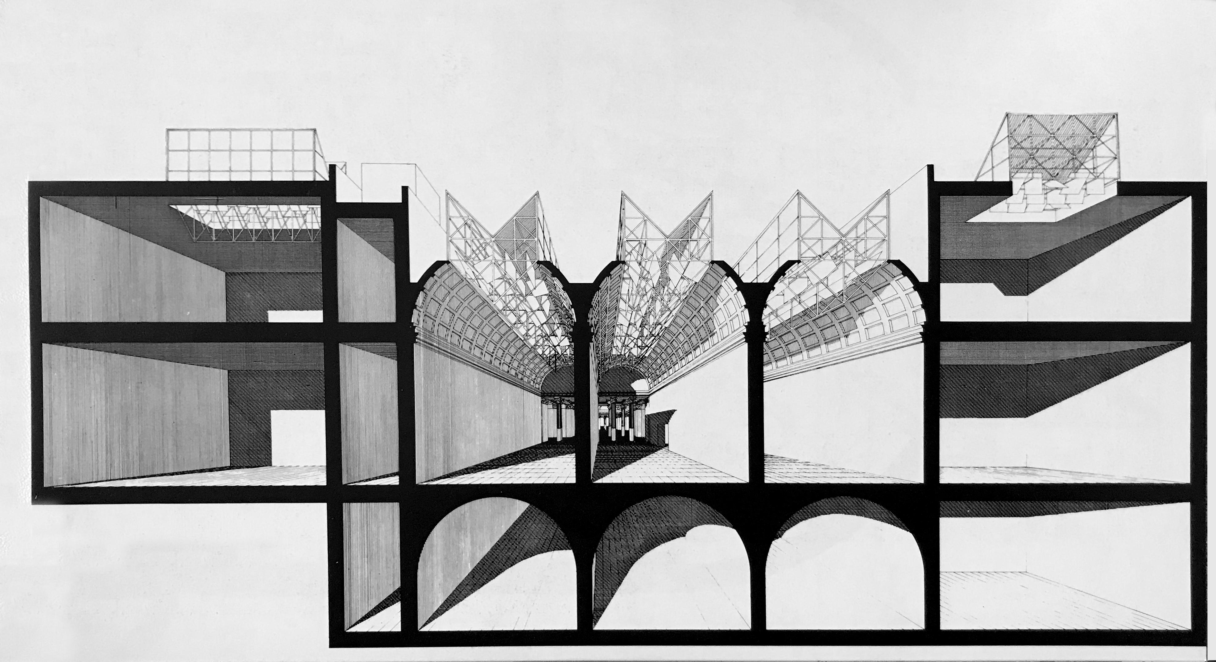 1990_Costantino DARDI_Progetto di ristrutturazione del Palazzo delle Esposizioni