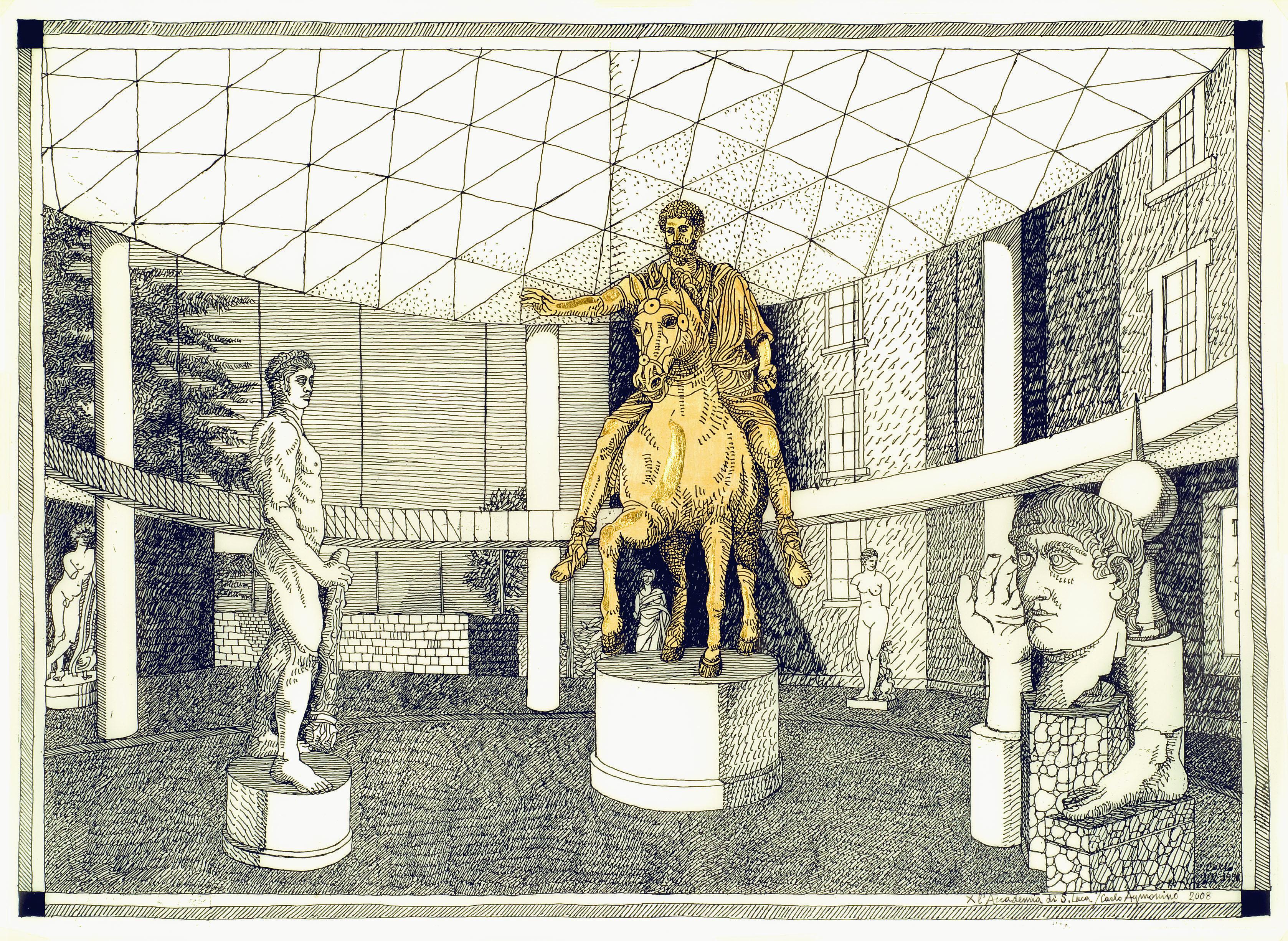 2005_Carlo Aymonino_Progetto Musei Capitolini