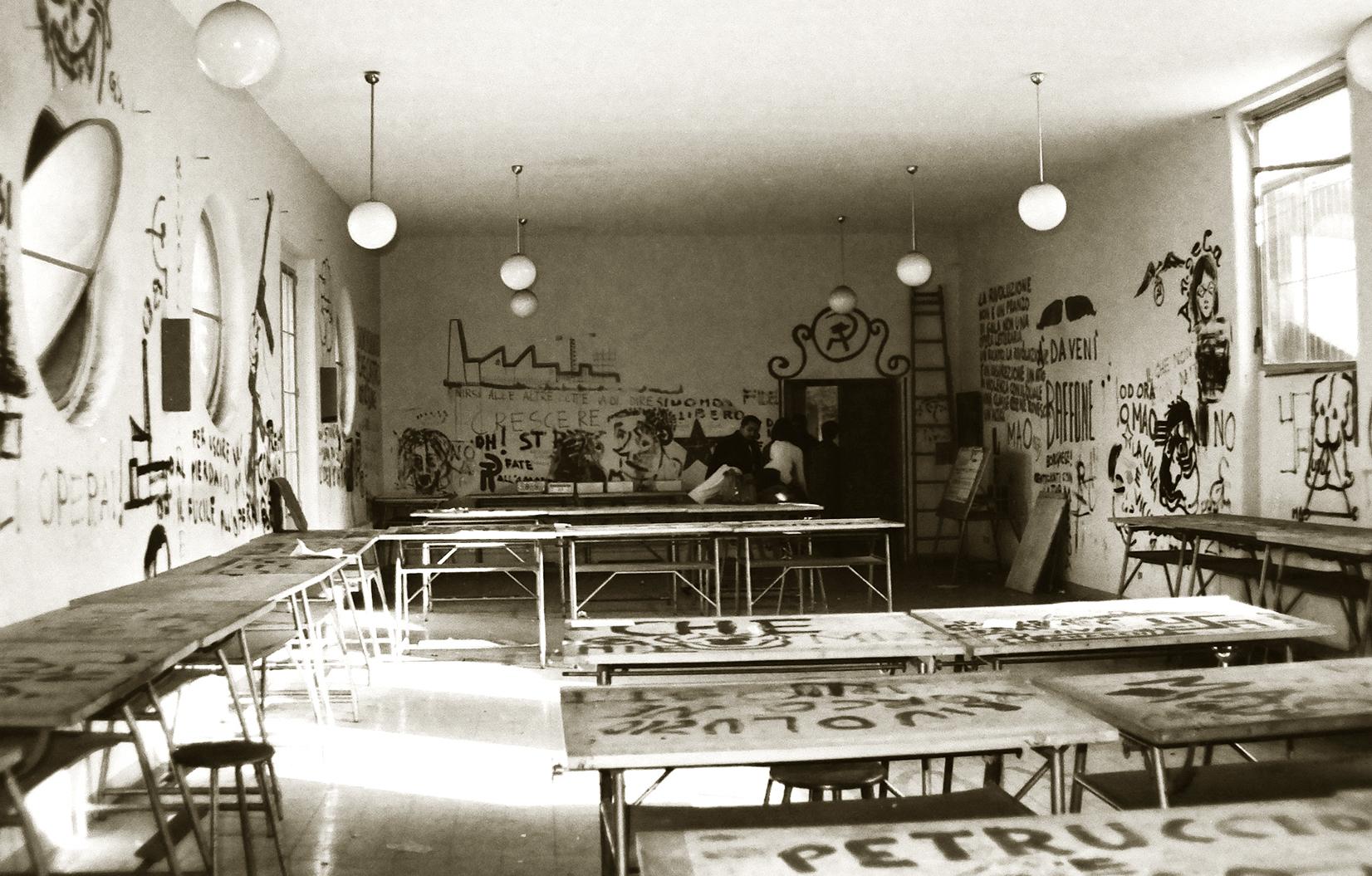 Battaglia Valle Giulia_occupazione Facoltà 1968